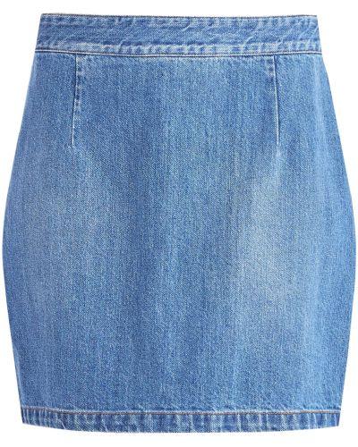 Юбка мини джинсовая с поясом Alexander Terekhov