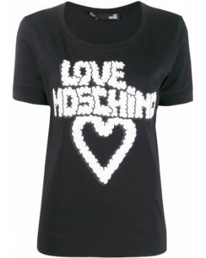Топ свободный футбольный Love Moschino