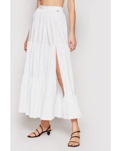 Biała spódnica maxi Twinset