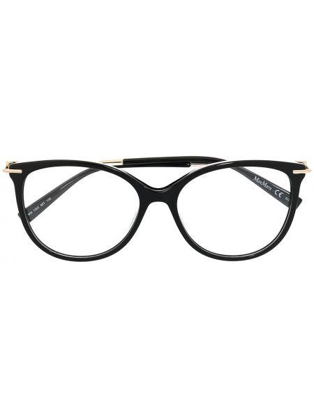 Оправа для очков металлические - черные Max Mara