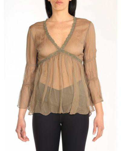 Beżowa bluzka Alessia Santi