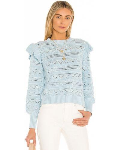 Ватный хлопковый синий свитер Generation Love