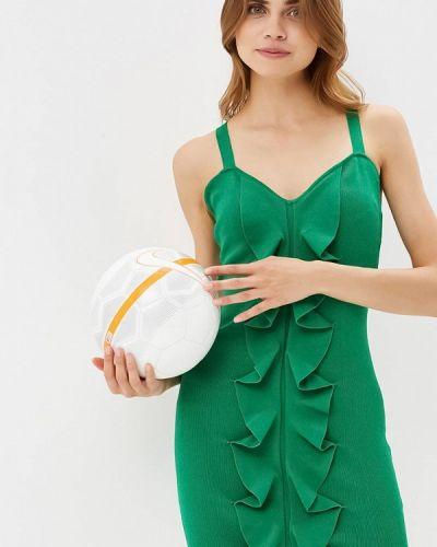 Платье с открытыми плечами осеннее You&you