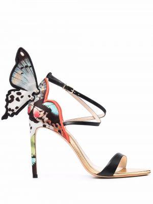 Кожаные сандалии - черные Sophia Webster