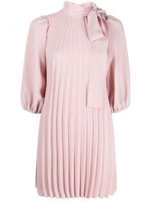 Розовое пышное платье на молнии Red Valentino