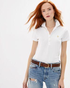 Поло белое Polo Ralph Lauren