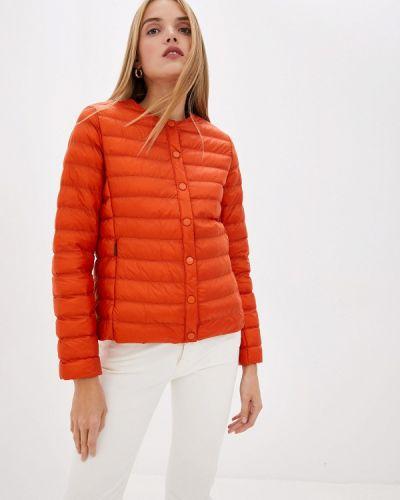 Утепленная куртка демисезонная осенняя Weekend Max Mara