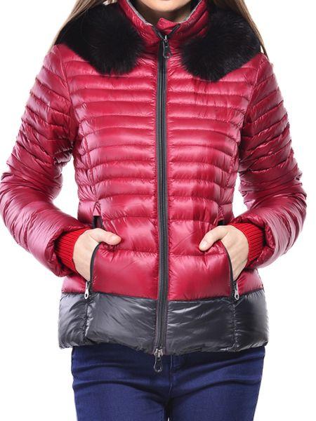 Куртка из полиамида - красная Duvetica