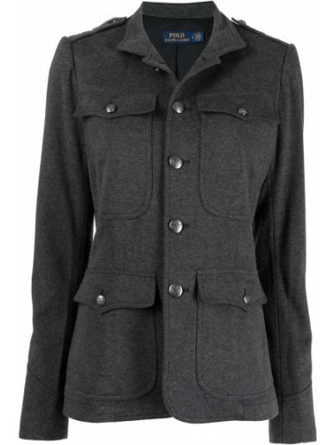 Куртка милитари - серая Polo Ralph Lauren
