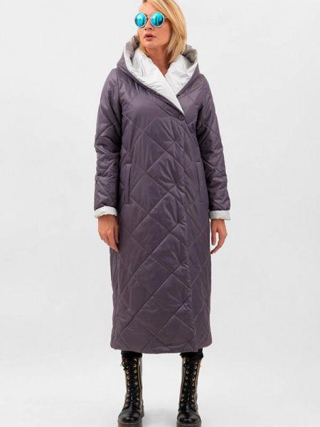 Теплая фиолетовая утепленная куртка Doctor E
