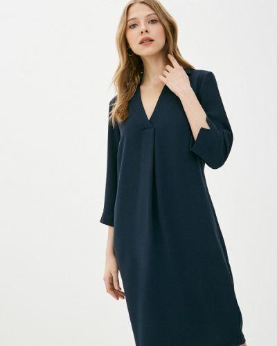 Повседневное синее платье Marks & Spencer