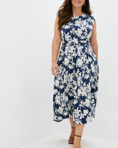 Платье - синее Forus