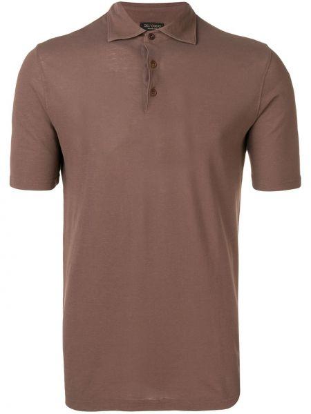 Koszula klasyczna z krótkim rękawem prosto Dell'oglio