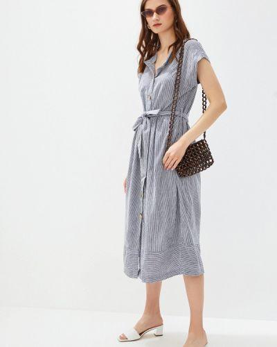 Платье серое платье-рубашка Iwie