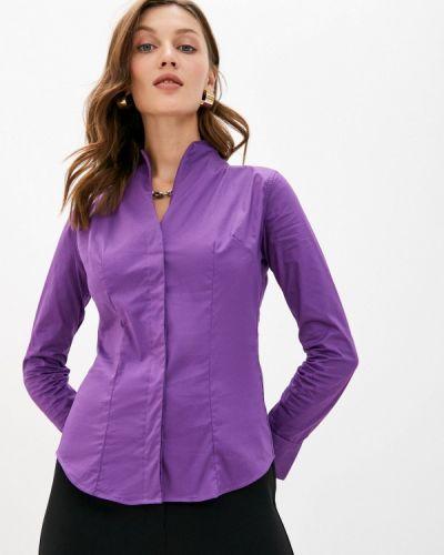 Фиолетовая с рукавами блузка Bawer