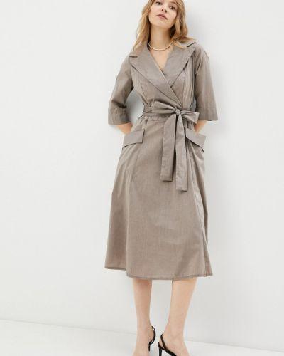 Платье - коричневое Aelite