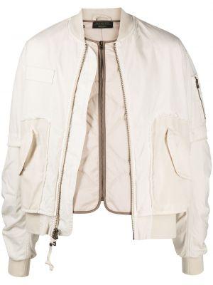 Długa kurtka pikowana bawełniana z długimi rękawami Mr And Mrs Italy