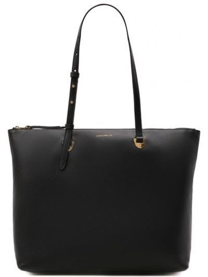 Черная сумка тоут Coccinelle