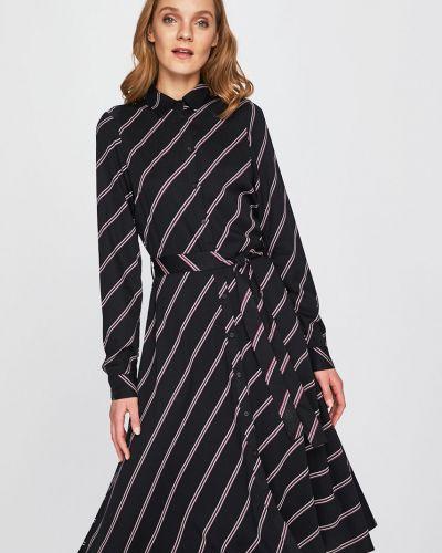Платье миди из вискозы на пуговицах Vero Moda