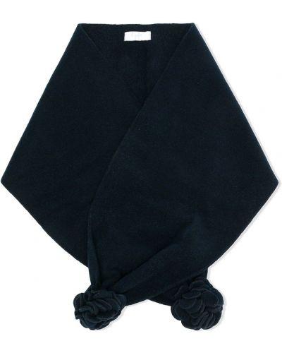Синий шарф из вискозы Il Gufo