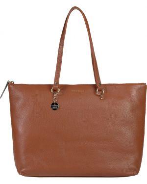 Кожаная сумка - коричневая Coccinelle
