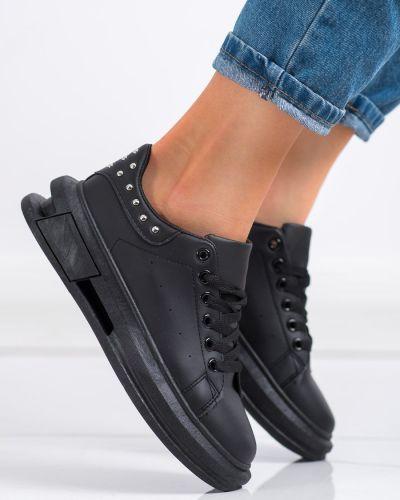 Sneakersy - czarne Shelovet