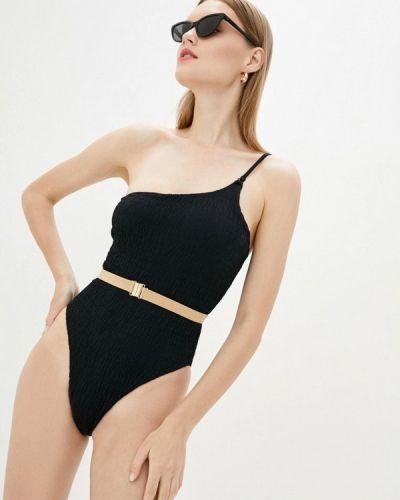 Черный слитный купальник Love's Swimwear