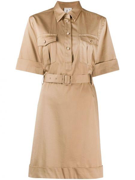 Платье мини на пуговицах сафари Lautre Chose