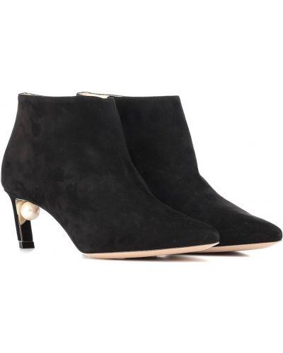 Ankle boots, czarny Nicholas Kirkwood