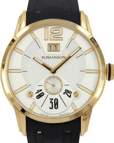 Часы водонепроницаемые с подсветкой стрелочные Romanson