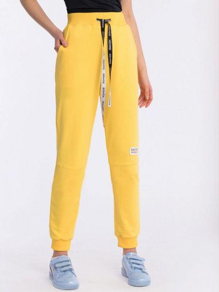 Спортивные брюки - желтые Barmariska
