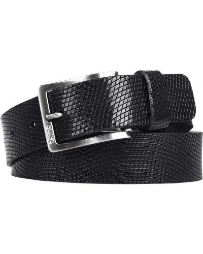 Кожаный ремень - черный Ferre Collezioni