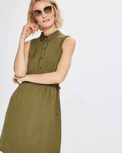 Платье мини на пуговицах свободного кроя Vero Moda