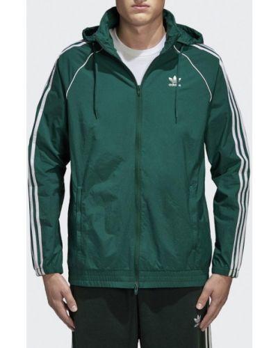 Зеленая ветровка Adidas Originals