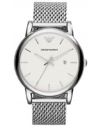 Biały zegarek Emporio Armani