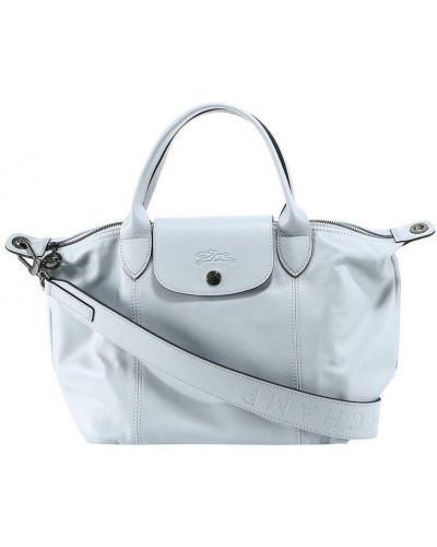 Niebieska torebka Longchamp