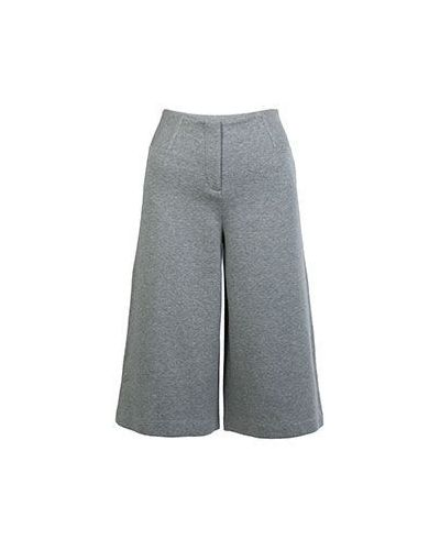 Серые брюки хлопковые Armani Jeans
