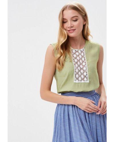 Блузка зеленый весенний Gregory