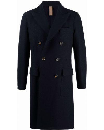 Синее пальто с карманами Eleventy