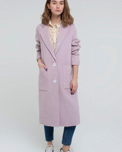 Пальто демисезонное розовое Kira Mesyats