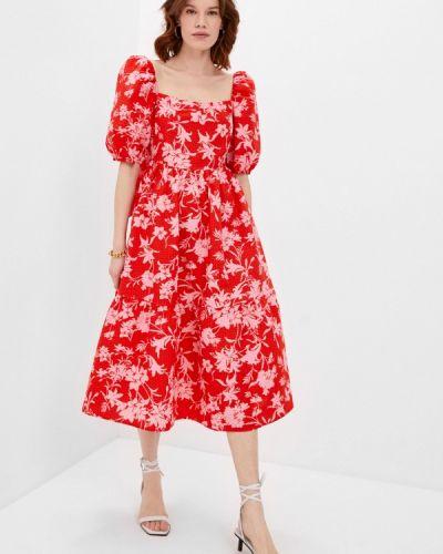 Повседневное красное платье Beatrice.b