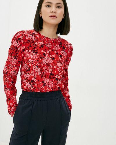 Красная блузка с короткими рукавами Marks & Spencer