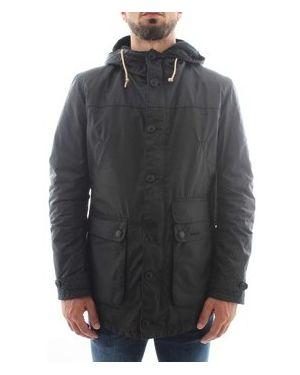 Płaszcz przeciwdeszczowy niebieski Barbour