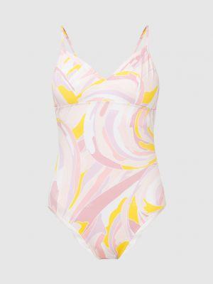Светло-розовый слитный купальник Emilio Pucci