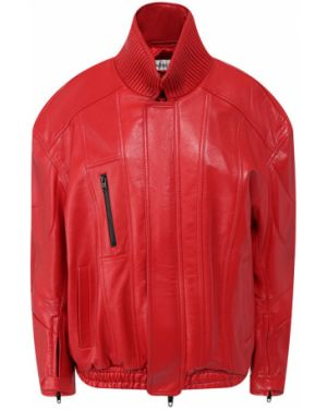 Кожаная куртка стеганая байкерская Balenciaga