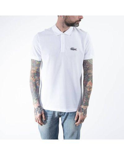 Белая футболка Lacoste