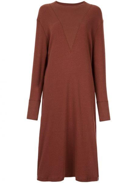Платье миди средней длины - коричневое G.v.g.v.