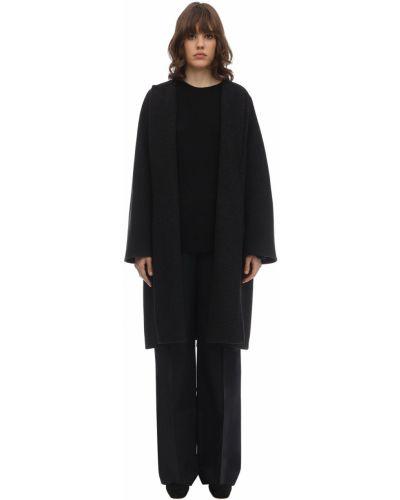 Шерстяное пальто - серое The Row