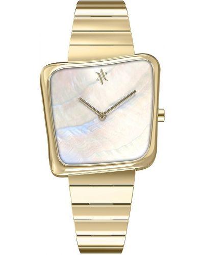 Złoty zegarek kwarcowy Vanna