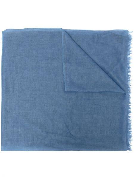 Niebieski z kaszmiru szalik N.peal
